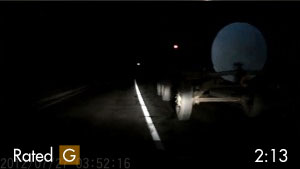 Slow Moving Tractor Causes Minor Nighttime Accident on Highway