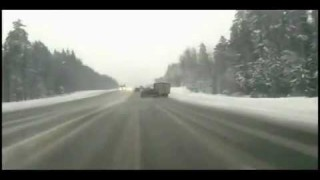 Pickup Truck Loses Control and is Obliterated by 18-Wheeler