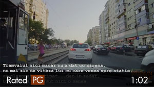Girl Crossing Street Hit by Train & Survived