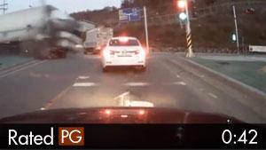 Brake Failure on 18-Wheeler Truck Causes Bad Crash