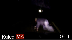 Man Crawling on Dark Road Gets Hit