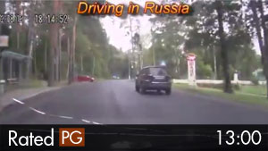 Russian Dash Cam Compilation