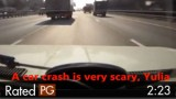 Man Warns Daughter About Crashes, Then They Witness One