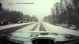 Close Call With an 18-Wheeler Truck