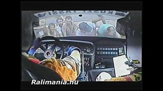 Hungarian Rally Car Crashes – Compilation