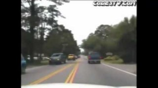 Suspect Steals Cop Car, Crashes it