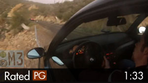 BMW M3 Crashes Off Cliff After Reckless Driving