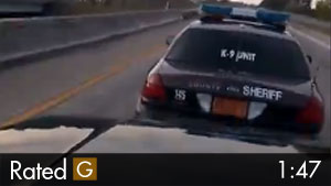 Deputy With Road Rage Causes Rear-End Collision