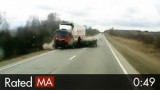 Reckless Overtaking Leads to Head-on Crash With Truck
