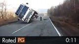 Scary Head-On Russian Car Accident