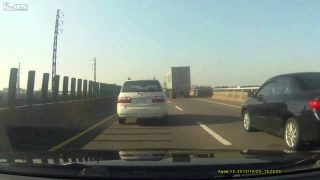 Unexpected Road Construction Causes Accident