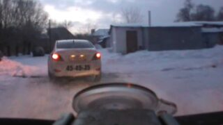 Russian Police Chase Ends With an Accident